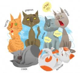 Інтерактивний літературно-мистецький проект «Образ кота в літературі та графіці»