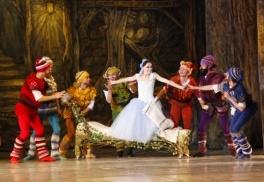 Балет Білосніжка та семеро гномів у Львівському театрі опери та балету