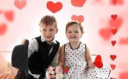 Суботнє дозвілля для дітей - свято у стилі Love is