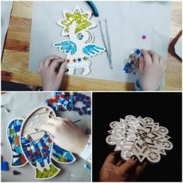 Новорічні мозаїчні Workshops від Галереї мозаїки та декору