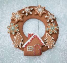 Смачний майстер-клас Різдвяні віночки від дитячої кулінарної студії Ложка