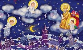 Театралізований майстер-клас Листівка для Святого Миколая від Рудої панди