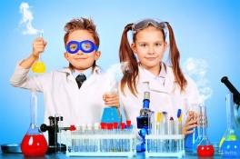 Науково-розважальне шоу від дитячой лабораторії «Юні дослідники»