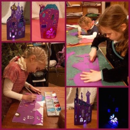 Створення різдвяних ліхтариків з дитячою студією КоКо