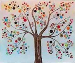 Майстер-клас для дітей Картина дерево